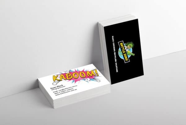 bottle sonic business card