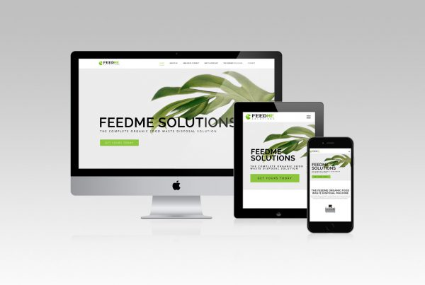 Feed Me Web Development Website