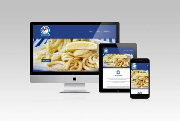 The Fish Plaice Website Design