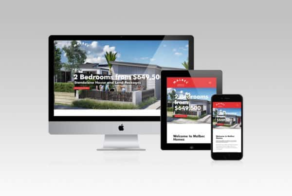 Malbec Homes Website Designer