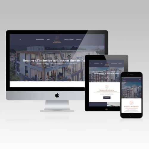 Remuera Residences Web Design